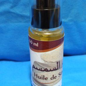 زيت السمسم،huile de sésame 60 ml